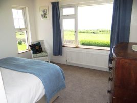 Bedroom 1 at Sunnyside self-catering house, Rhossili, Gower