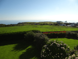 The view from Sunnyside self-catering house, Rhossili, Gower