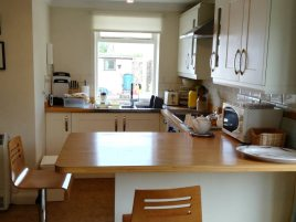 Kitchen at The Bower, Rhossili, Gower