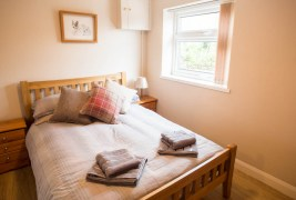 Bedroom 2 at Honeywell Cottage self-catering accommodation, Oxwich, Gower Peninsula