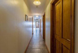 The corridor at The Barn self-catering accommodation, Llethryd, Gower