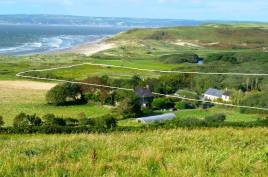 Delvid Stables within 10 acre Delvid Farm, Llangennith, Gower