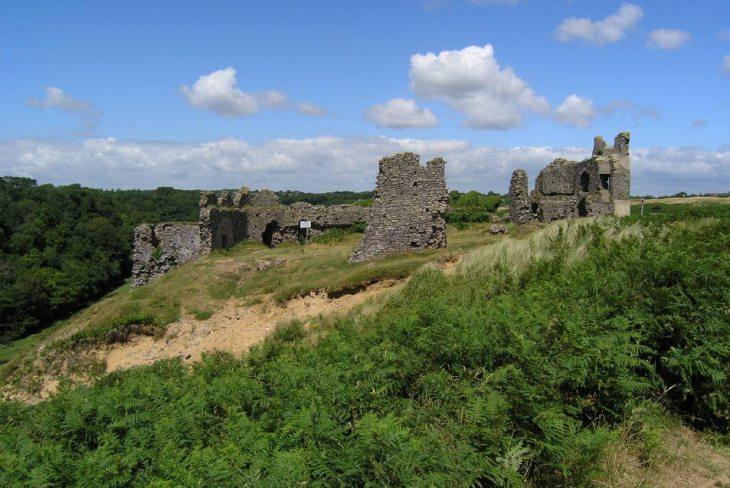 Pennard Castle, Gower Peninsula, South Wales