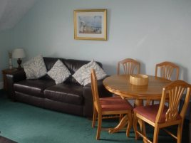 The sitting room at The Hollies, Horton, Gower