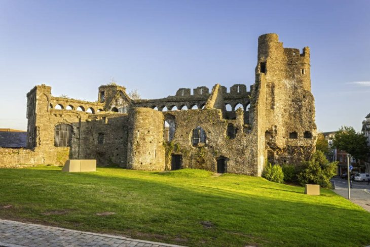 Swansea Castle, Swansea, South Wales