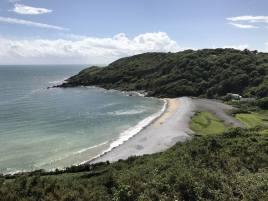 Pwlldu beach near Bishopston, Gower Peninsula