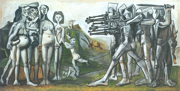 Picasso's Massacre in Korea