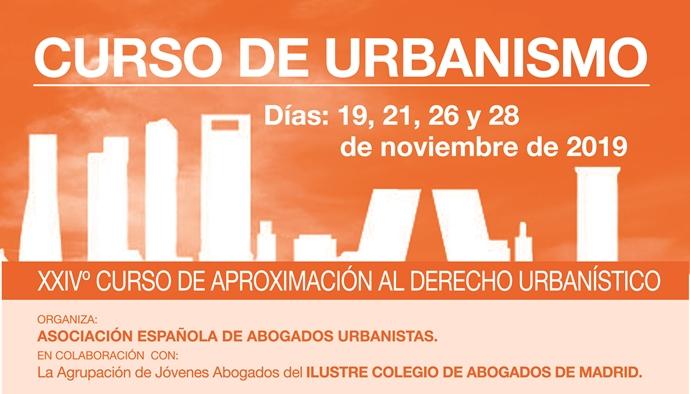 Se Convoca XXIVº Curso De Urbanismo De La Asociación Española De Abogados Urbanistas