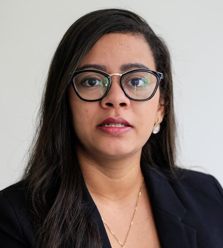 Maryelle Barros, representante da OAB