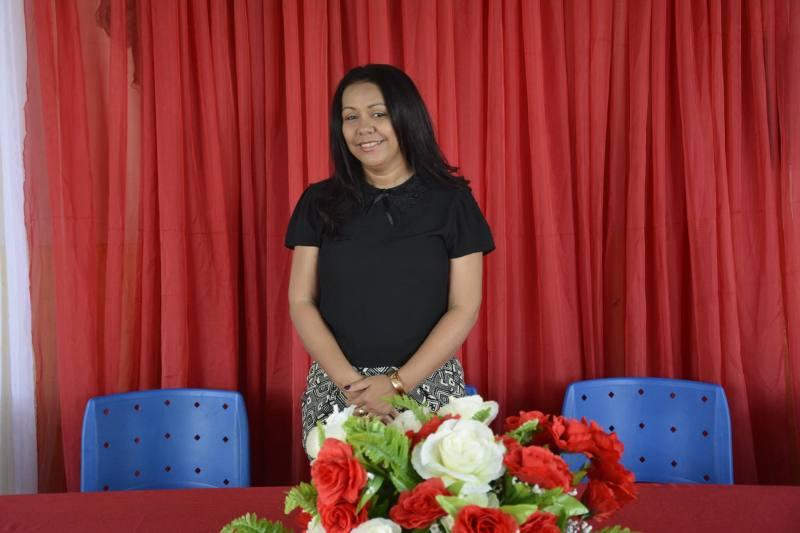 Prefeita Alcilene Alves de Araújo, mais conhecida como Doquinha