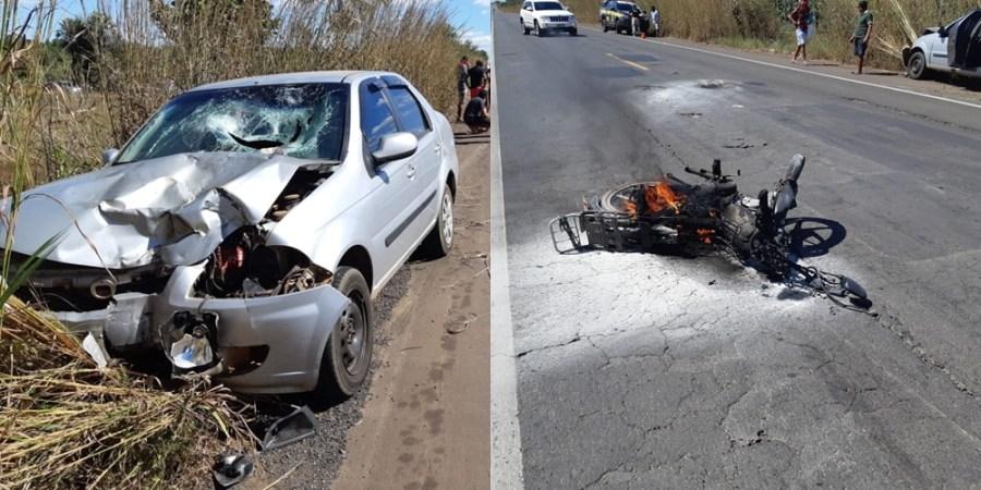 Acidente com vítima fatal em Piripiri