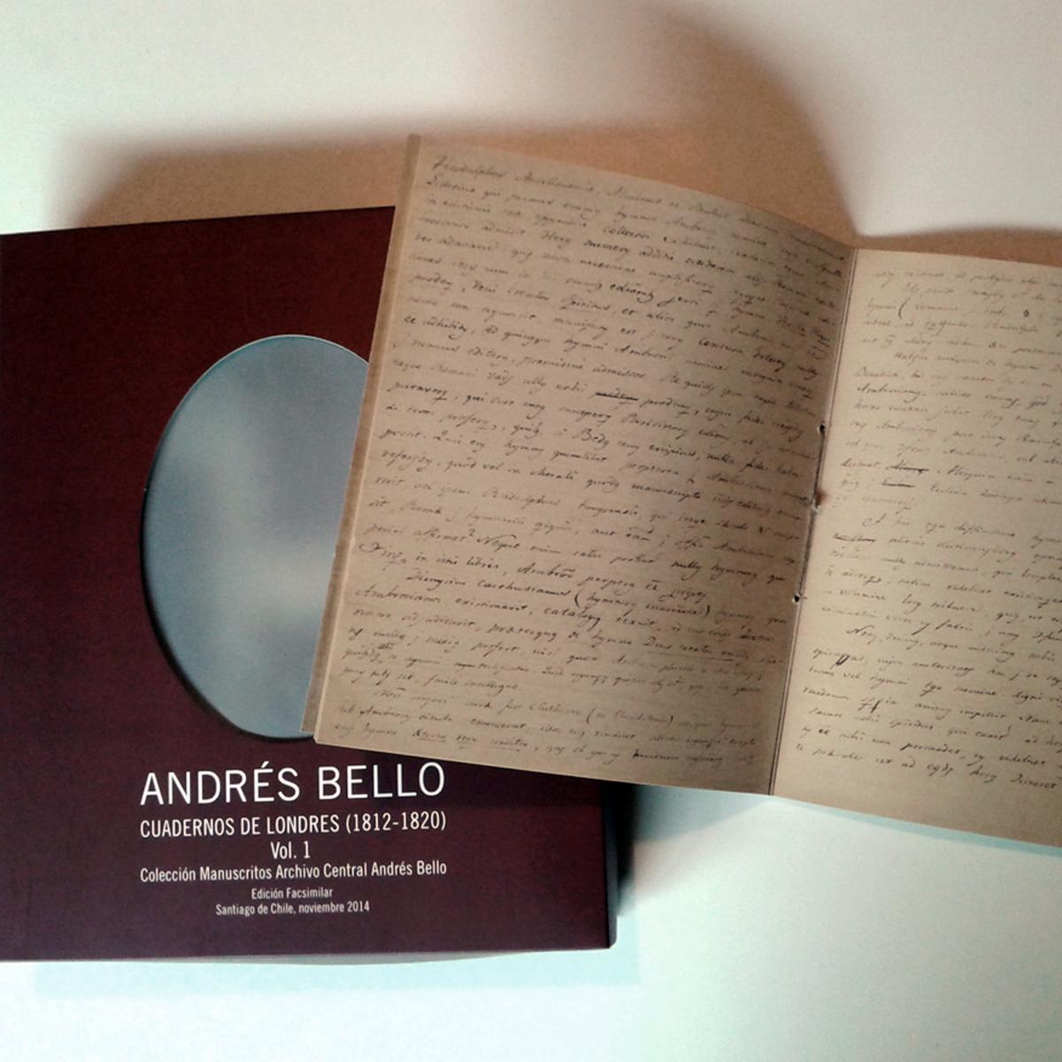 Diseño Editorial para Andrés Bello por María José Larrosa, GP Creative Thinking