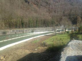 Canal d'amenée en eau