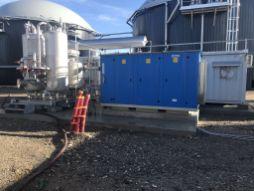 Installations purification du biogaz