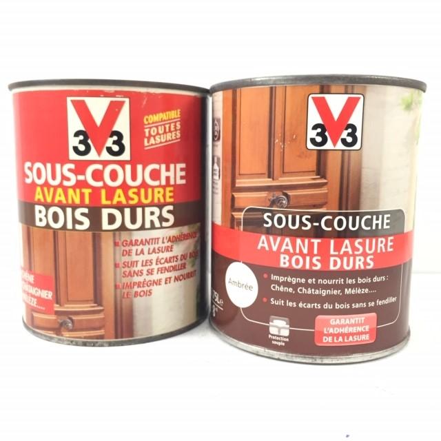 V33 Sous Couche Avant Lasure Bois Durs Ambree 0 75 L V33 3588290212534 Large Selection De Peinture Accessoire Au Meilleur Prix