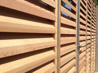 volets persiennes bois sur mesure