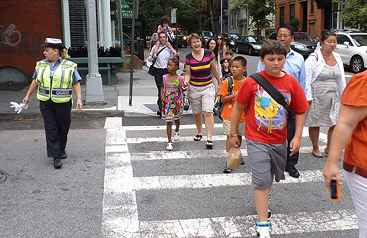 NYC Schools Pedestrian Safety Project
