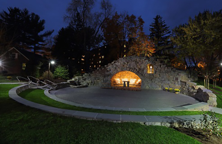 The Grotto at Siena College
