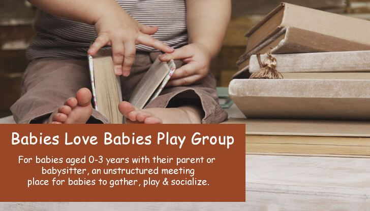 Babies Love Babies Play Group at the Gardiner Public Library, Gardiner, Maine.