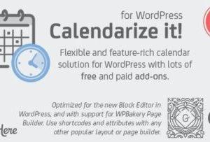 Calendarize it! for WordPress 4.9.8.97384