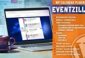 EventZilla 1.2.1 – Event Calendar WordPress Plugin