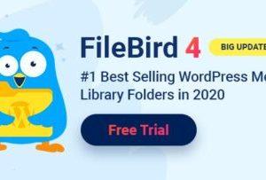 FileBird WordPress Media Library Folders 4.8