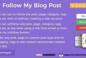 Follow My Blog Post Plugin 2.0.2