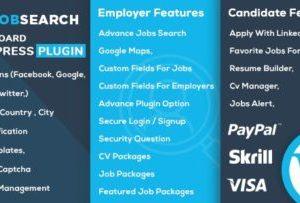 JobSearch WP Job Board 1.5.9