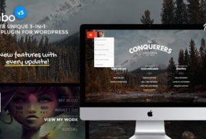 Jumbo 3.5 : 3-in-1 full-screen menu for WordPress