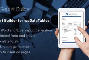 Report Builder for wpDataTables 1.2
