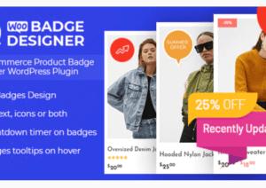 Woo Badge Designer plugin v3.0.4