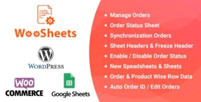WooSheets 4.8 – WooCommerce Plugin