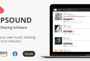phpSound 6.2.0 – Music Sharing Platform