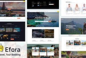 Efora 2.0 – Travel, Tour Booking WordPress Theme