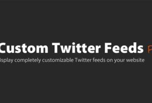 Custom Twitter Feeds Pro 1.8