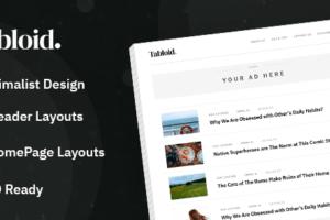 MyThemeShop Tabloid WordPress Theme 1.0.5
