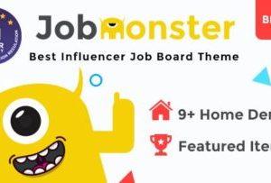 Jobmonster Job Board Theme 4.6.7.5