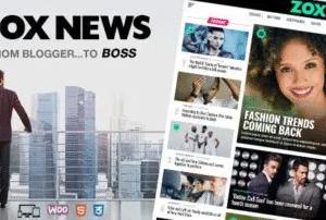 Zox News News And Magazine Theme 3.11.0