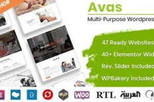 Avas MultiPurpose WordPress Theme