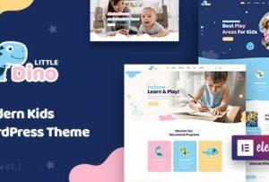 Littledino Kids WordPress Theme 1.1.7