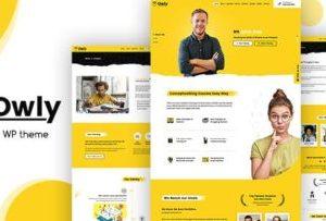 Owly 2.2 – Tutoring & eLearning WP Theme