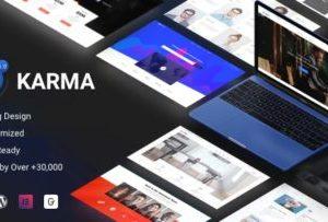 Karma Elementor Business Theme 6.2.6