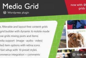 Media Grid Responsive Portfolio Plugin 6.5.5
