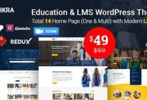 Eikra Education WordPress Theme 4.3