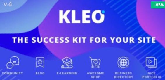 KLEO Community And MultiPurpose Theme