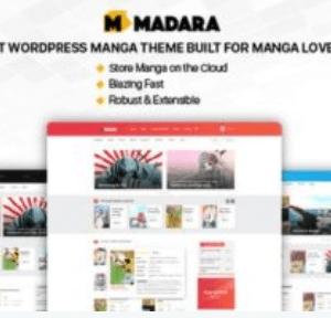 Madara WordPress Theme for Manga