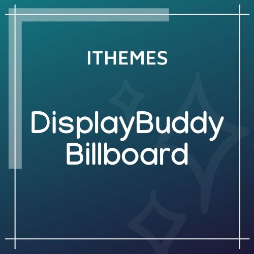ithemes DisplayBuddy Billboard