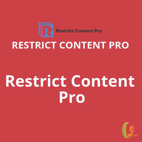 Restrict Content Pro plugin
