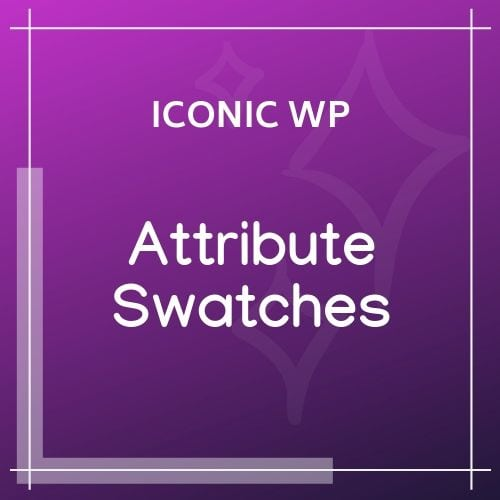 Iconic Attribute Swatches