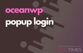 ocean wp popup login